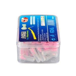 Ferramenta de Cuidados em forma de L Dentes Escovilhão Denta Floss Interdental Cleaners ortodôntico Dental Escova Toothpick Oral