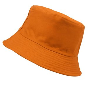 1PC Korean Candy Color Fisherman Hat For Women Men DIY Portable Folding Hat Spring Summer Fashion Outdoor Sunshade H11