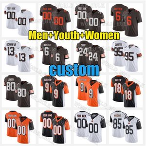 6 Baker Mayfield Jerseys 24 Nick Chubb 9 Joe Terrier 13 Odell Beckham Jr 28 Joe Mixon Cleveland