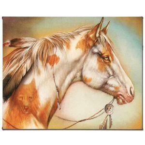 """Martin Katon """"Dreamer Horse"""" Home Decor Artigianato / HD Stampa della pittura a olio su tela di canapa di arte della parete della tela di canapa Immagini 200916"""