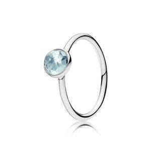 FAHMI 100% 925 Sterling Silver 1:1 Original Authentic Charm 191012NAB Temperament Fashion Glamour Retro Ring Wedding Women Jewelry Gift