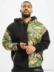 Apparel Mens Sports Designer Solid Color Hoodies Long Sleeve Pullover Autumn Homme Clothing Camouflage Print Casaual
