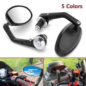 "Motorcycle Rear View Mirrors 7 8"" Handle Bar End Side Rearview Aluminum For Benelli ApriliaBuellTRIUMRH Fairing 2020"