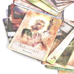 Cartes de Noël jeu Cartes Tarot Conseil Famille Anglais Jeux Pcs Party Game Card Board 52 Tarot puissance Déesse Cartes à jouer pKnrF yh_pack