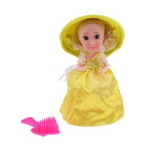 Sweet Lemon Cupcake Maya Puppen Spielzeug mit Überraschung, Kuchen-Transformation zu Prinzessin Puppe