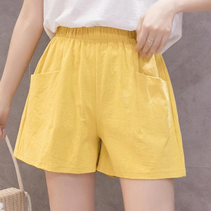 Women Shorts Summer Striped Athletic Short Ladies Running Fitness Jogging Clothes Cotton Casual Home Pajamas Shorts Comfortable
