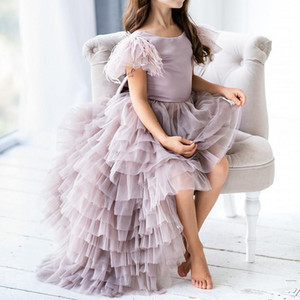 Beautiful Flower Girl Dresses Sequin Ball Gown Girls Pageant Dresses first communion Wedding Birthday Party Dresses For Teen