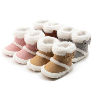2020 Autumn Winter Baby's Snow Boots Soft Sole Infant Toddler First Walkers Newborn Baby Winter Booties