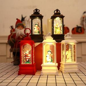 Главная Фестиваль украшения Night Light Decor Party Домашнее украшение Принадлежности Подарок Рождество Снежинка Летающий светодиодные лампы