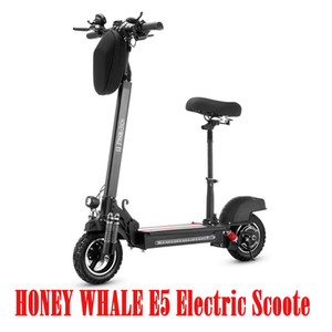 HONEY WHALE E5 Electric Scooter New style portable kick board 2 wheel electric scooter for adults Environmentally Friendly Electric Vehicle