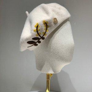 Yün bere Designer eşarp kova şapka beyzbol şapkası şapka bayanlar lüks tasarımcı eşarp ipek tasarımcı sarık