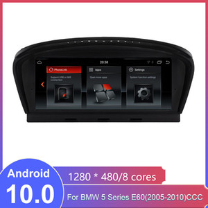 الروبوت 10.0 سيارة دي في دي GPS لسيارات BMW 5 سلسلة E60 (2005-2010) CCC راديو السيارة الوسائط المتعددة فيديو لاعب الملاحة GPS