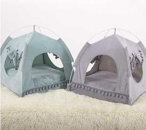 Tente Cat Summer Bed Respirant Confort Animaux Petit Chien extérieur Maison Lit amovible Puppy Kennel Pet Supplies