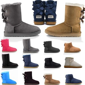 australian luxury ankle knee tall platform winter snow boots for ugguggsboots high woman fur girls lady boots sneakers trainers
