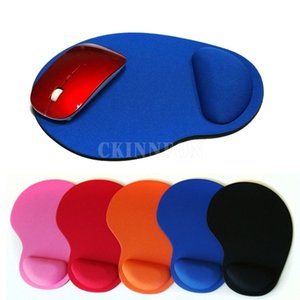 100pcs Optical Trackball PC Thicken Mouse Pad Support Wrist Comfort Mat Mice