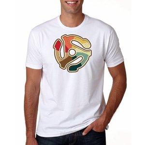 Le Goozler - Dj 45 Rpm Adaptateur - coton pour hommes T-shirt