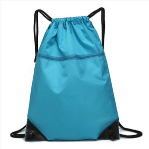 Simple Sports Drawstring Bag Backpack Men Women Soccer Shoes Bag Fitness Training Travel Lightweight Backpack Best Sale
