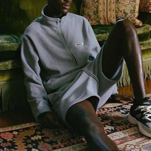 2020ss Qualität FOG Essentials-Half Zip Pullover Sweatshirts Männer Frauen-Winter-Fleece Warm FG Hoodie Anzug