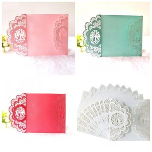 Creative Hollow Out Greeting Cards Multi Color European Style Inviting Card Wedding Party Supplies 1 5dd C R