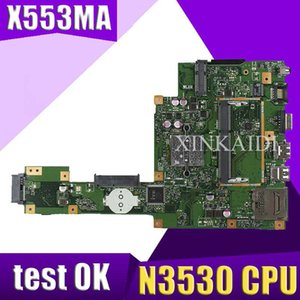 ASUS F503M X503M F553MA X503MA D503M 노트북 마더 보드 MAIN BOARD 용 NEW XinKaidi X553MA N3530 CPU와 메인 보드 rev2.0를
