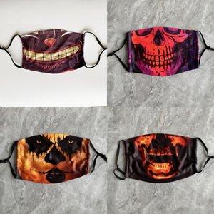 Palyaço Vampir ZZ Maske Cosplay Kostüm Masquerade Makyaj Performans Teması Full yortusu Yüz Parti Mas İçin 6gpo4 Işık Cadılar Bayramı Korku Maskesi