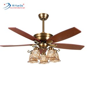 Riyueda Hot Sale Logo High Speed Ac Motor Weight Led Ceiling Fan Light