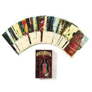 Мертвая Семья партии Полного Muerte развлечения 78pcs Board Карта Таро английской палубы игра Книга Santa XNESc bdesports