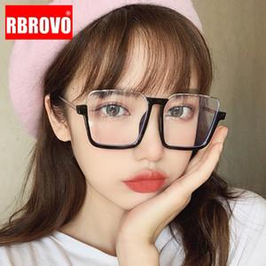 RBROVO 2020 gafas de sol de gran tamaño las mujeres de alta calidad de las gafas de sol de la vendimia de las mujeres Marca de los vidrios Diseñador Femenino