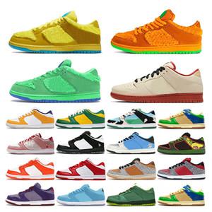 mens scarpe da ginnastica scarpe da corsa Bears Arancione Opti Giallo Verde Blu Fury Sashiko donne di sport allenatore di moda all'aperto