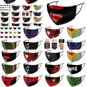 Avengers and Mask the Individual Package Washable Reusable Masks Captain America Online Shopping Sole Collector New Li in Stock5231