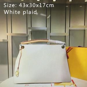 새로운 높은 품질 진짜 가죽 예술 핸드백 패션 클래식 여성 토트 지갑 쇼핑 가방 어깨 가방 N40253 Mm44869