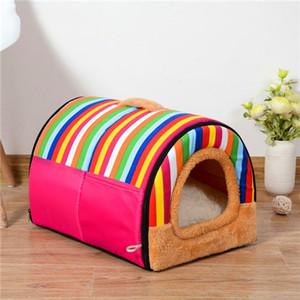 2020 Pet Bed filhote de cachorro Kennel Sofá Polar material do leito Pet Mat Cat House Cat Dormir produtos para cão
