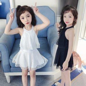 fYAKs youyou çocuk kadın tek parça Princess mayo prenses elbise bebek sevimli kız elbise çocuk mayo