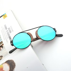 New bamboo-wood women's frame Wood + metal glasses sunglasses eye protection polarized sunglasses