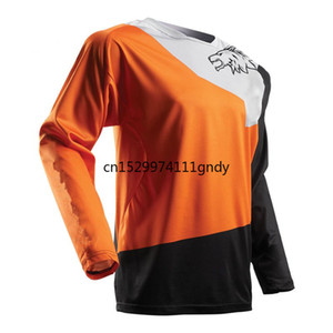 2020 Jersey DH Mx Downhill Cross Country Mountain Bike Racing Bike Motorcycle Long Sleeve T-Shirt Off-Road Polyester
