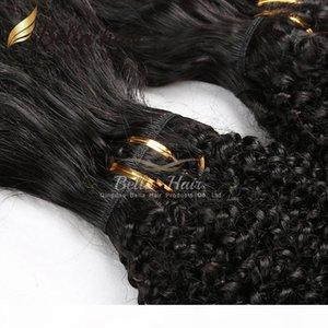 New Brazilian Hair Bundles Virgin Human Hair Braid in Bundles No Glue No Thread No Clips Machine Weft Braid in Virgin Hair Julienchina