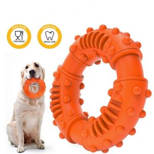 Собака Шипы Круг Моляры Собаки Обучение Инструменты Собака Занимательная Игрушки на открытом воздухе Современные моляра кольцо собак Обучение послушанию Инструмент DHF1000