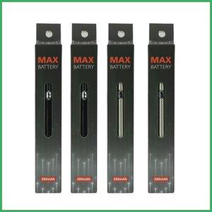 Logo personnalisé Vape Pen Amigo Max Batteries Batteries E Cigarettes FIT 510 Cartouches CE3 Verre Verre Vaporisateur à huile de CO2