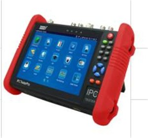 Pantalla LCD de 7 pulgadas CCTV Tester Monitor IP analógico Tester WiFi Onvif PTZ Control Poe