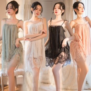 Woman Lingeries Sexy Underwear Sexy Seductive Underwear Home Perspective Lace Suspenders Pajamas Skirt Suit lingerie sexy