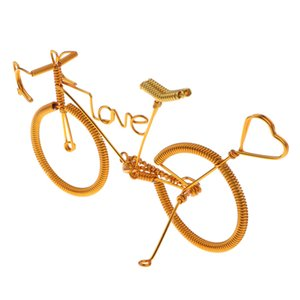 Novel Handmade Metal Bicycle Bike Model Art Craft Hobby Toy Gift Home Desk Decor