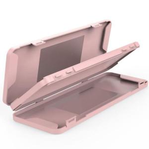 Mask Box Double-Layer-Gesichtsmasken Aufbewahrungsbehälter mit Spiegel beweglichen Mask-Kasten-Speicher-Organisator Staubdichtes Masken Container GGA3738-3