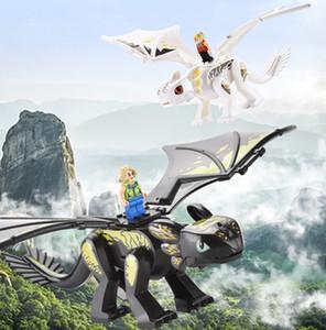 Puzzle Assemblée dragon Diy Dinosaur Building Blocks Simulé Dinosaures World Action Figures Bricks Doll enfants Jouets fantaisie