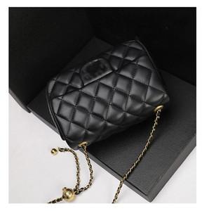 2021 donne dei sacchetti delle donne di canale spalla di modo del sacchetto di catena famosi del progettista di marca borse messaggero di alta qualità campane bag decorazione