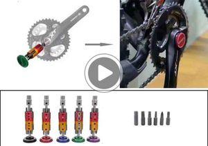 산악 도로 자전거 숨겨진 도구 세트 자전거 다기능 복구 도구 면하게 도구 산주기 드라이버 도구 무료 배송
