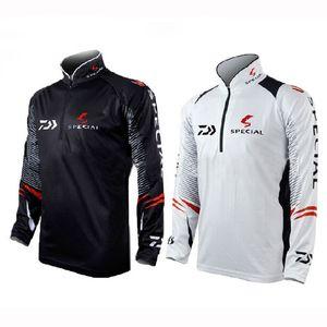 Outdoor Sport Fishing Shirts Breathable Men Long Sleeve Anti Uv DAWA Clothing Plus Size Camping Hiking Fishing Clothes