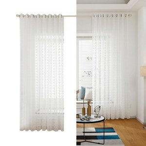2 Panel Curtains For Living Room Tulle Curtains White Sheer Curtain For Bed Room living Tulle