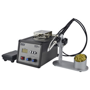 220V Automatic Lead-free Soldering Machine Tin Feeder Foot Switch Electric Constant Temperature Soldering Station Soldering Iron