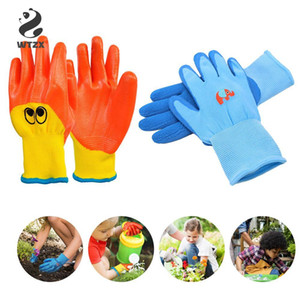 Children Protective Gloves Weeding Anti-bite Gardening Garden Gloves Planting Latex Work Tools Household Greenhouse Products