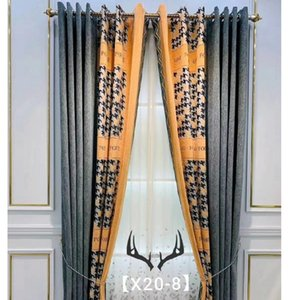 Custom for Living Room Dining Room Bedroom Curtains Nordic Simple High-end Seamless Stitching Cashmere Blackout Curtains
